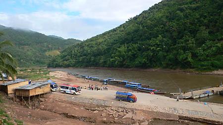 Muang Khua riverport